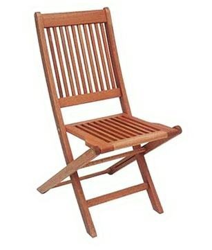 Eucalyptus Wood Folding Chair without Arms - Click Image to Close