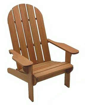 Eucalyptus Wood Adirondack Chair