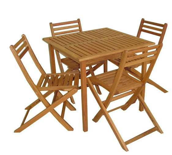 Eucalyptus Wood Dining Set