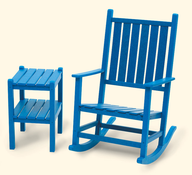 Adirondack Rocking Chair - wide slat