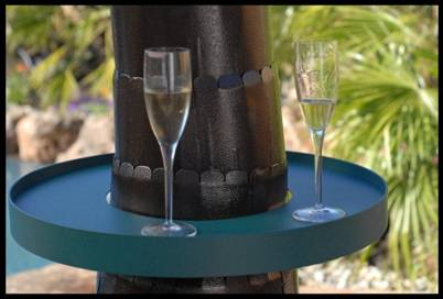 Outdoor Heater Cocktail Ring