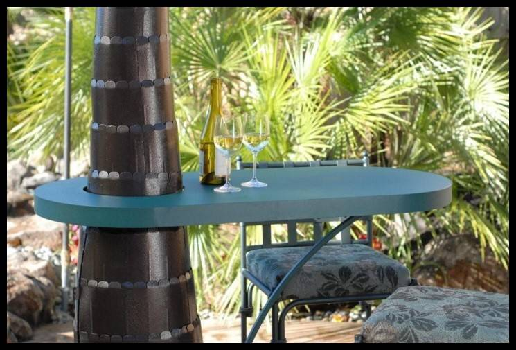 Outdoor Heater Table Attachment