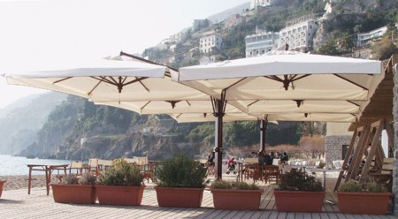 Oversized Side Post Umbrellas